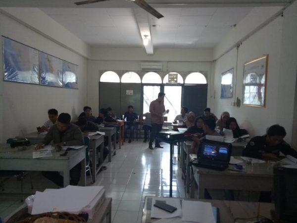 Pratikum Matakuliah Geologi Fisik Program Studi Teknik Pertambangan