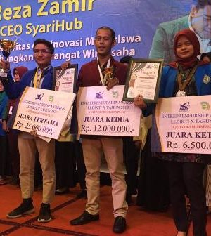 Mahasiswa STTIND Padang Berhasil Juara III Enterprenuership Award III LLDIKTI X 2019
