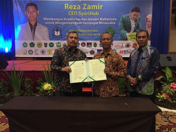 STTIND Padang Jalin Kerjasama Dengan Universitas Islam Riau (UIR) Kerjasama di Bidang Pendidikan, Penelitian serta Pengabdian Kepada Masyarakat