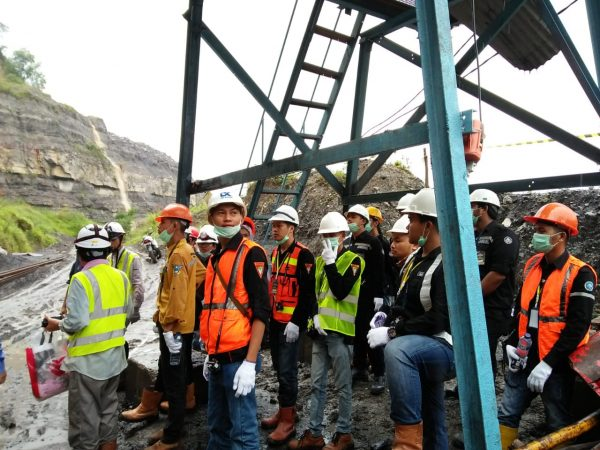 Bimbingan Teknis Tambang Batubara Bawah Tanah Kerjasama BDTBT Sawahlunto ke PT. Allied Indo Coal Jaya