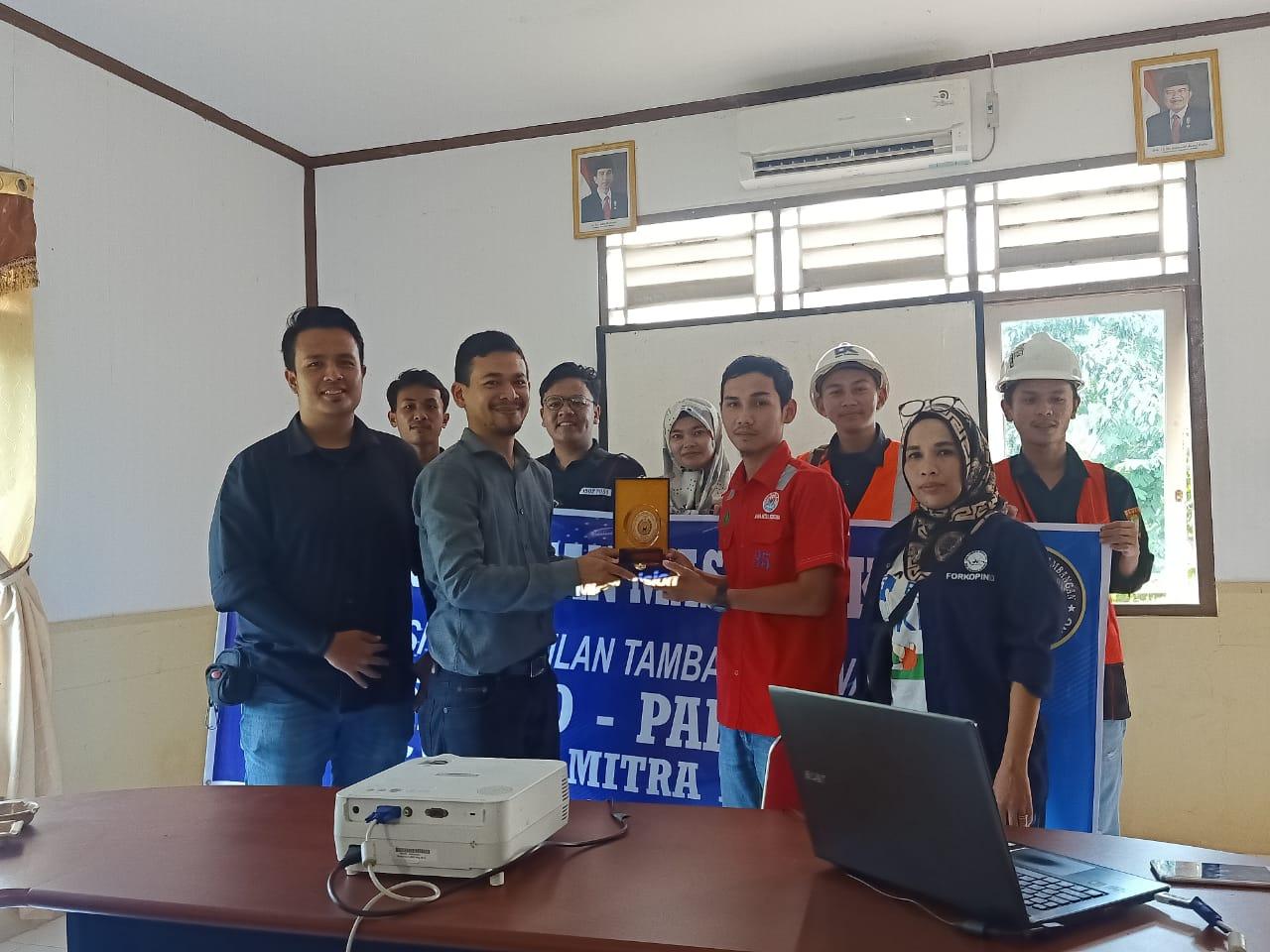 Kunjungan Industri Mahasiswa Prodi Teknik Pertambangan Ke CV. Bara Mitra Kencana Kecamatan Talawi Kota Sawahlunto