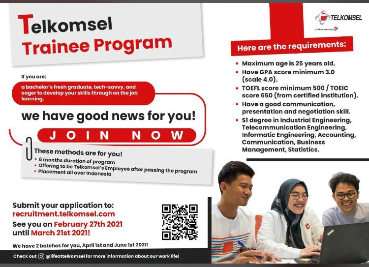 Telkomsel Trainee Program